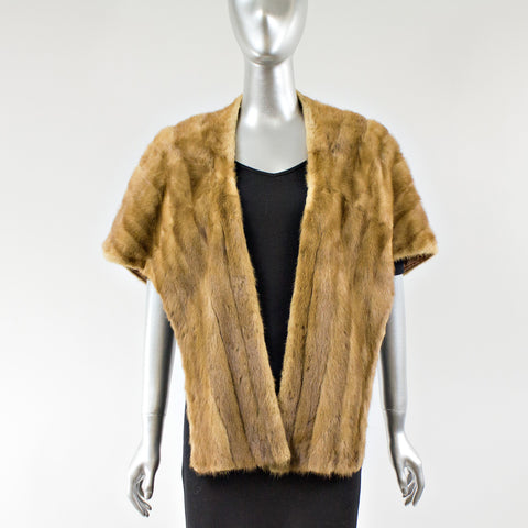 Lunaraine Mink Fur Stole - One Size Fits All