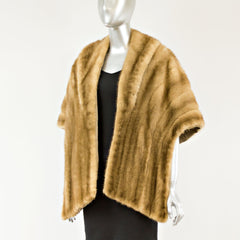 Pastel Mink Stole - One Size Fits All