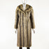 Raccoon Fur Coat - Size XS