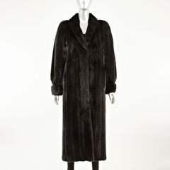 Blackglama Ranch Mink Coat - Size S