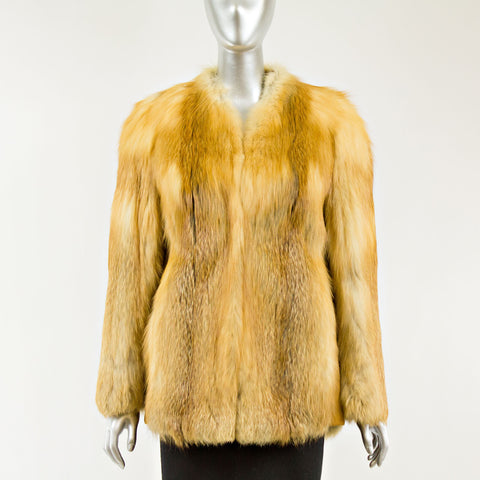 Red Fox Jacket - Size XS