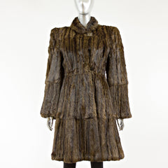 Squirrel Fur Coat - Size XS