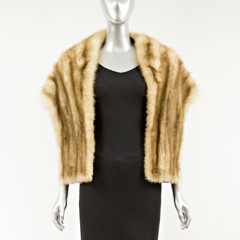Stone Martin Fur Stole - One Size Fits All