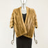 Autumn Haze Mink Cape - Size S