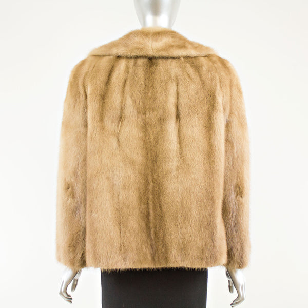 Autumn Haze Mink Jacket  - Size M