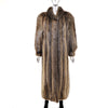 Long Hair Beaver Coat- Size S (Vintage Furs)