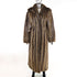 Long Hair Beaver Coat with Detachable Hood- Size M (Vintage Furs)