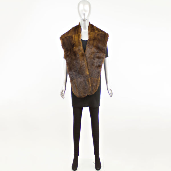 Chinese Mink Stole- Free Size (Vintage Furs)