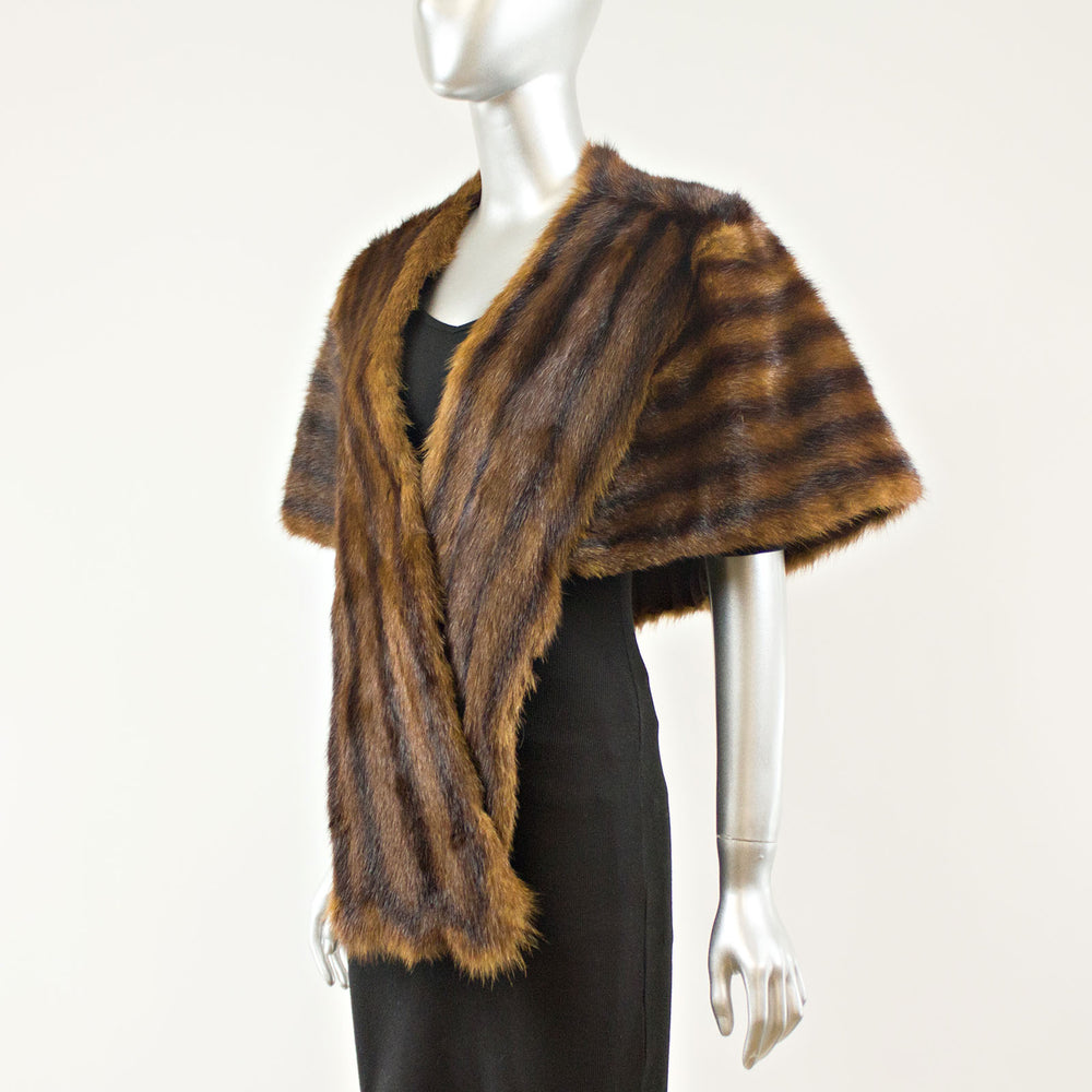 Chinese Mink Stole - Free Size (Vintage Furs)