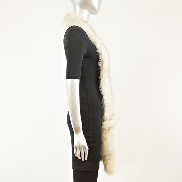 Crystal Fox Boa - Free Size (Vintage Furs)