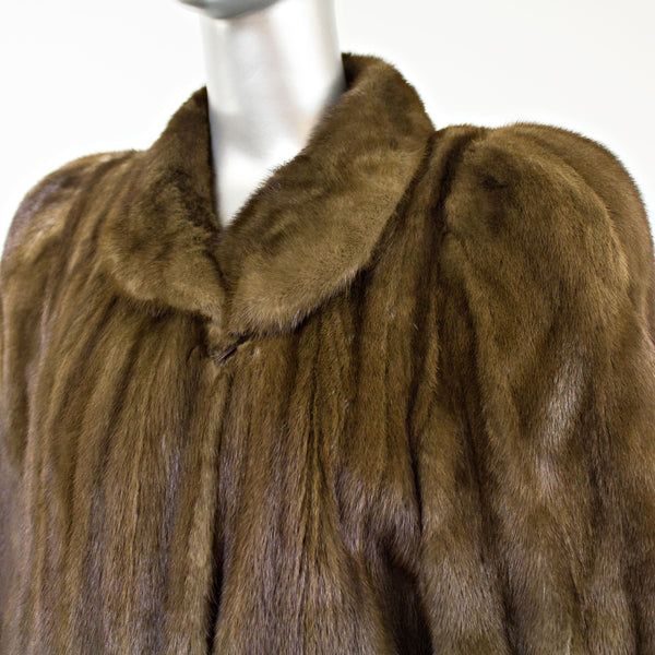 Full Length Lunaraine Mink Coat- Size M (Vintage Furs)