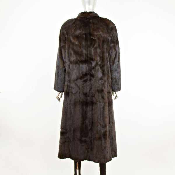 Full Length Mink Coat- Size M-L (Vintage Furs)