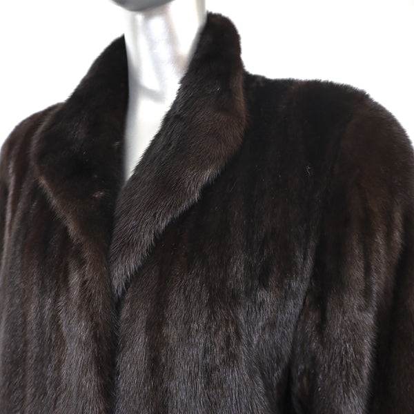 Ranch Mink Coat- Size L