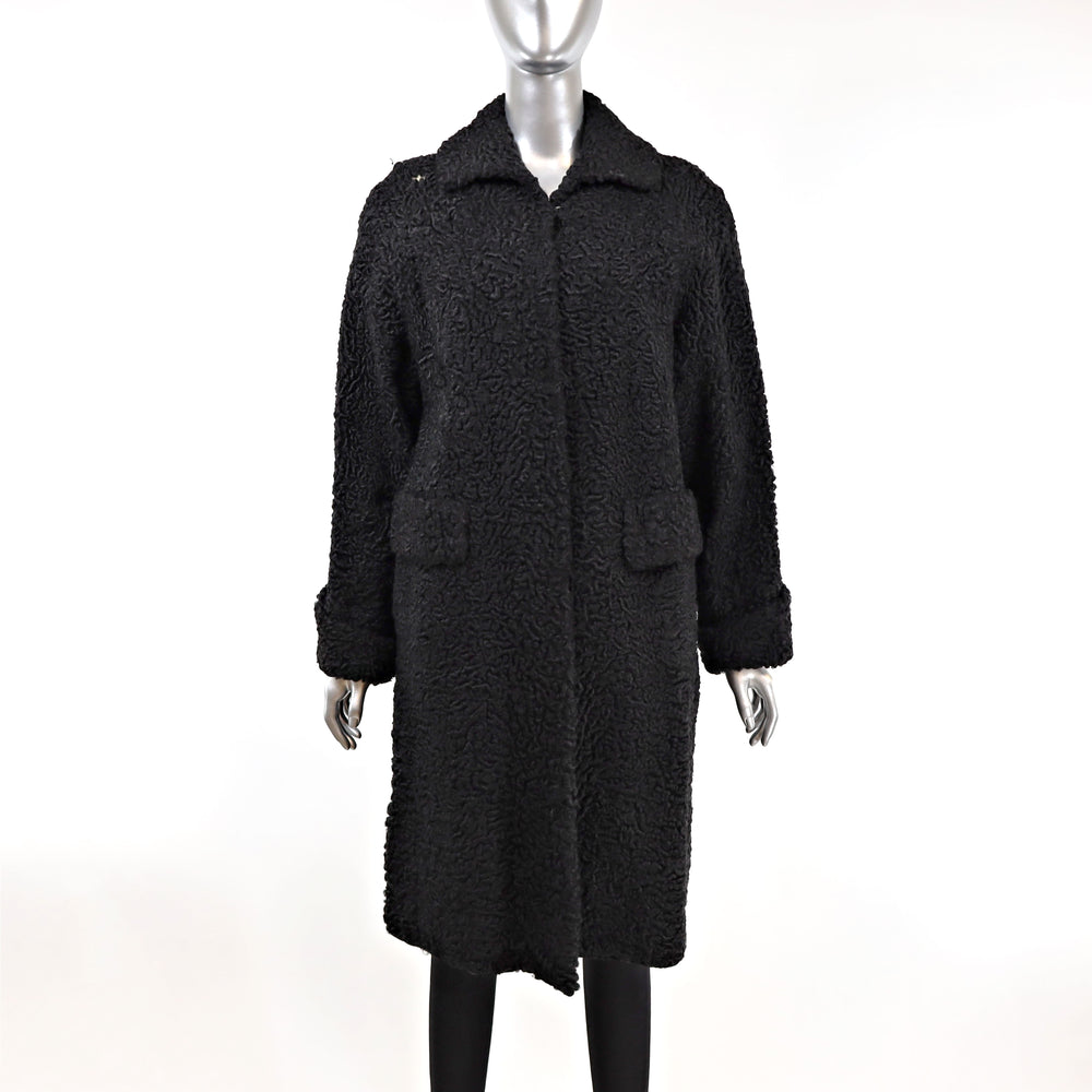 Persian Lamb Coat- Size XL (Vintage Furs)