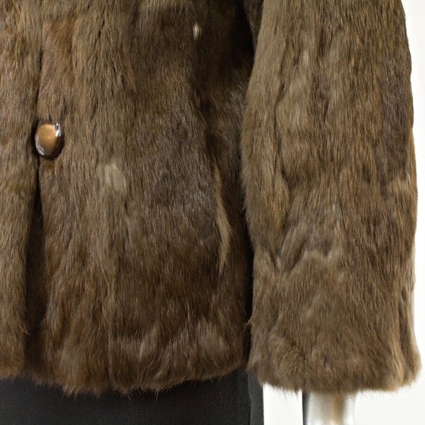 Rabbit Jacket- Size L (Vintage Furs)