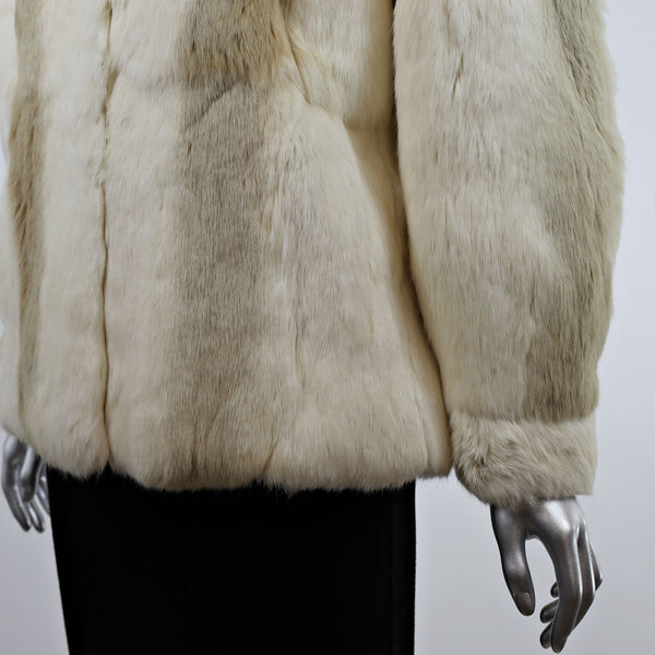 Rabbit Jacket- Size S (Vintage Furs)