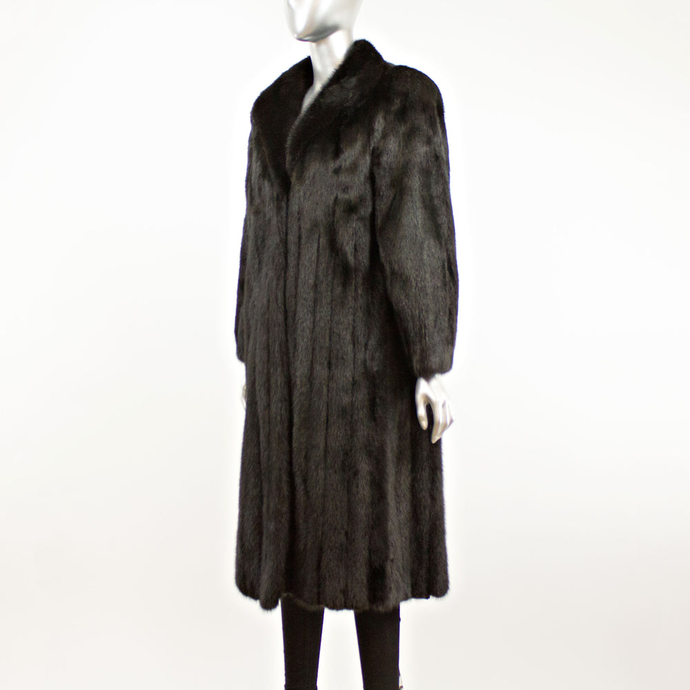 Ranch Mink Coat- Size S (Vintage Furs)
