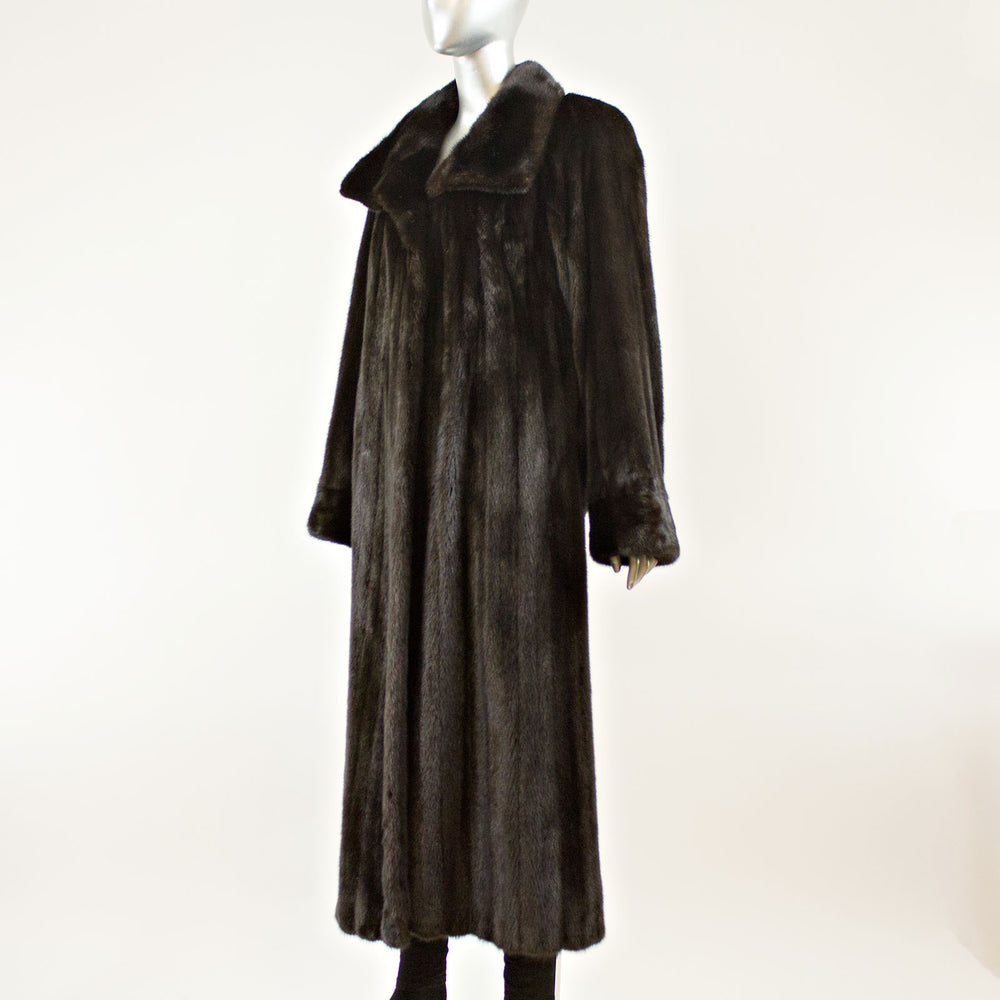 Ranch Mink Coat- Size L (Vintage Furs)
