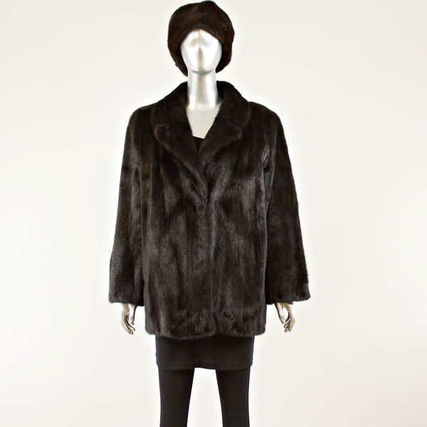 Ranch Mink Jacket - Size XL ( Vintage Furs)