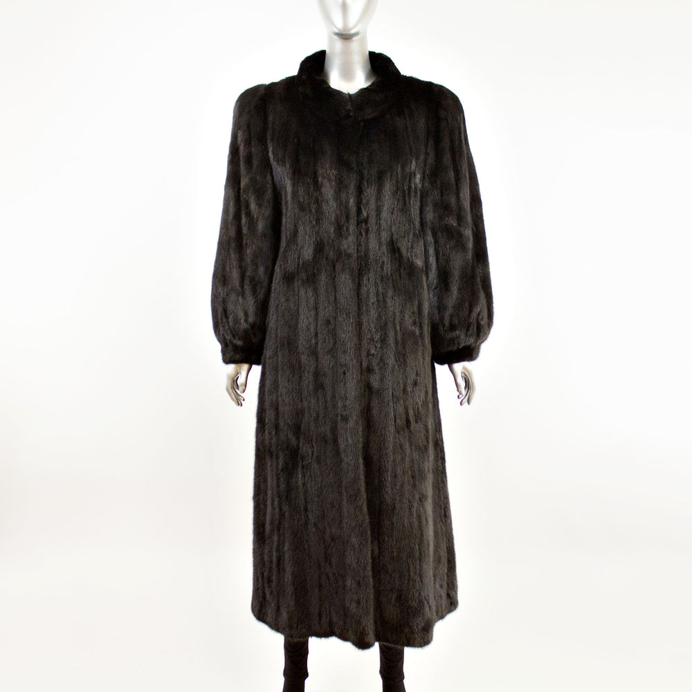 Ranch Mink Coat- Size M (Vintage Furs)