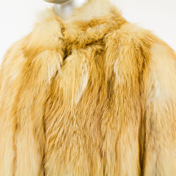 Red Fox Coat- Size M (Vintage Furs)