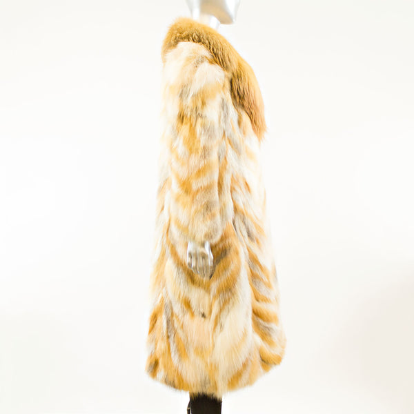 Red Fox Coat - Size XS (Vintage Furs)