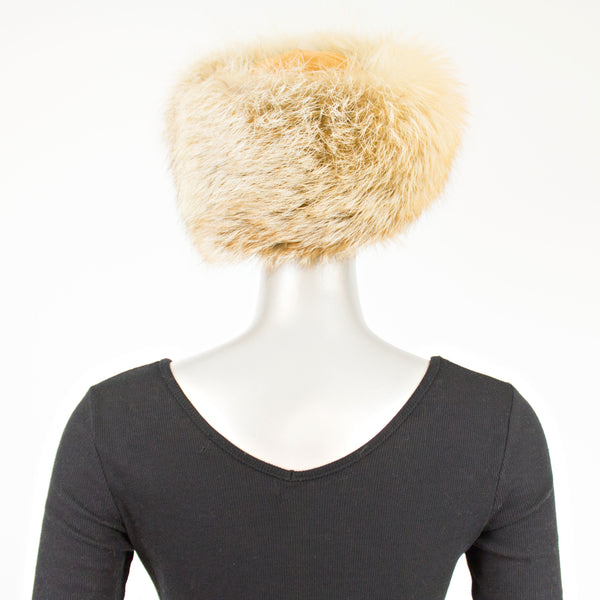 Red Fox Hat- Size S (Vintage Furs)