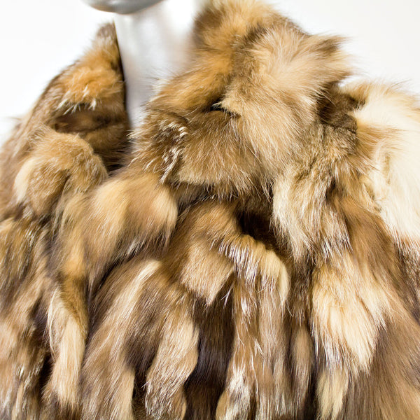 Section Fox Coat- Size M (Vintage Furs)