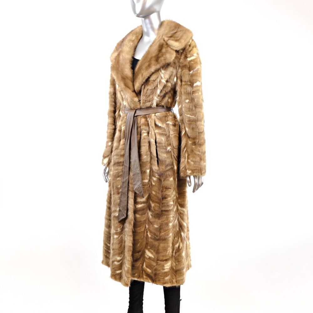 Section Mink Coat- Size M (Vintage Furs)