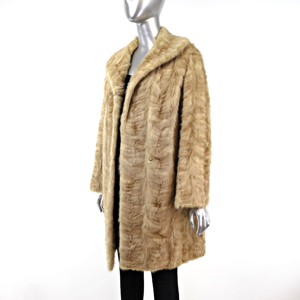 Section Mink Coat- Size XXL (Vintage Furs)