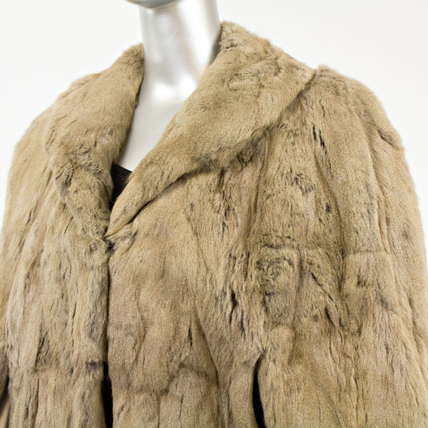 Squirrel Long Stole- Free Size (Vintage Furs)