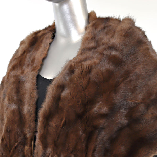 Squirrel Stole- Free Size (Vintage Furs)