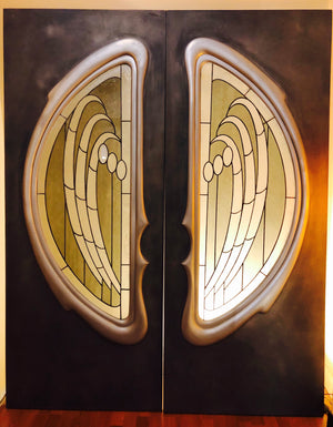 Double Angel Wing Doors