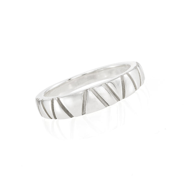 Textured Band Ring