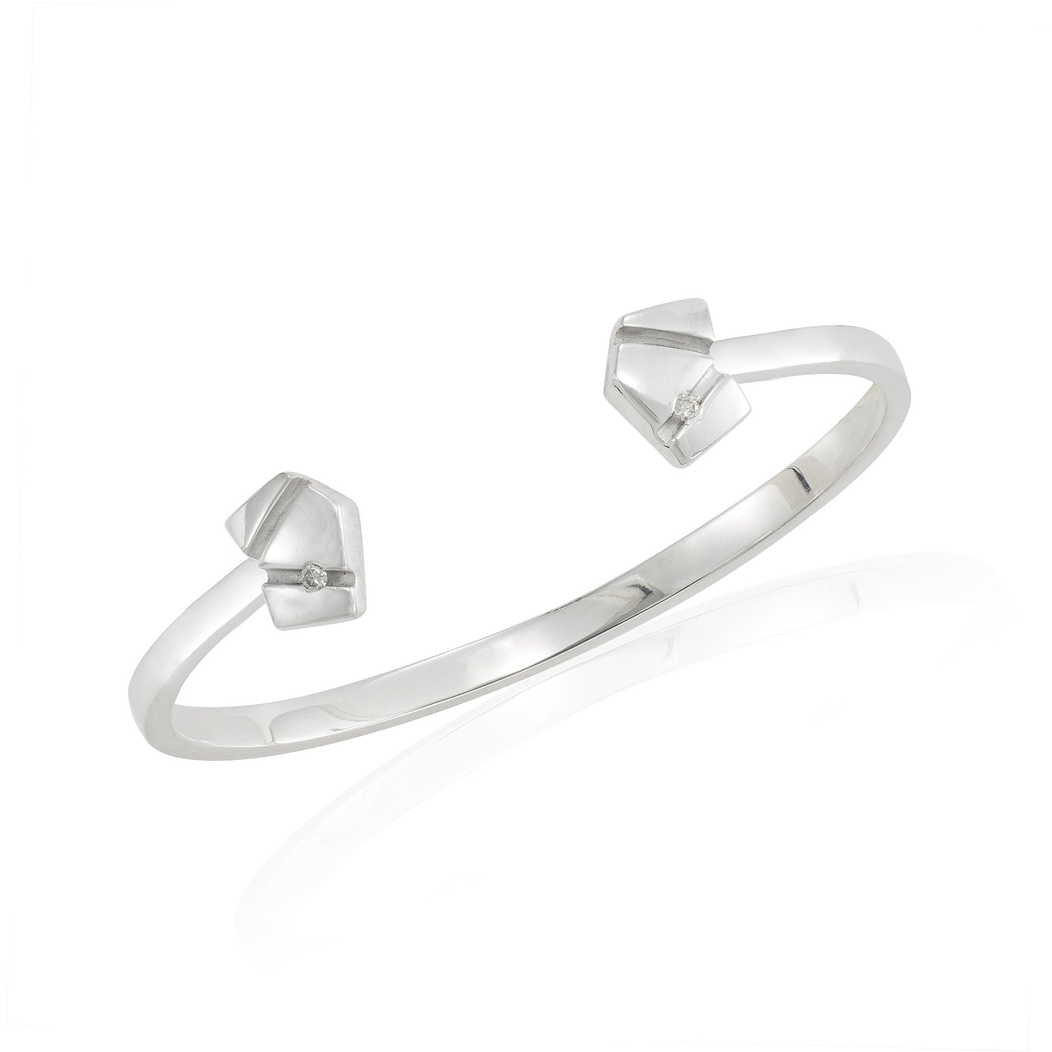 Asymmetrical Open Bangle
