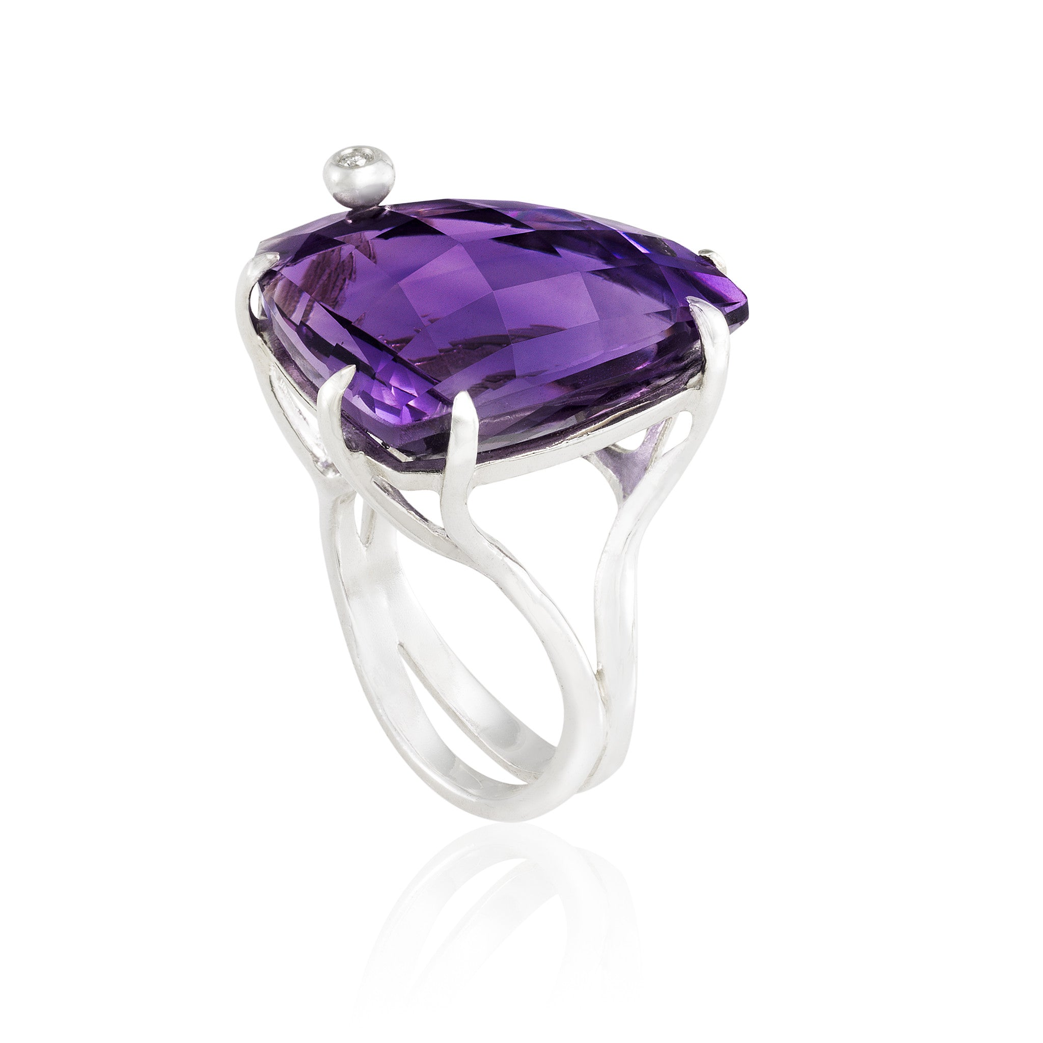 sterling by rings engagement product amethyst exclusivity amethist sterlin silver oval ring