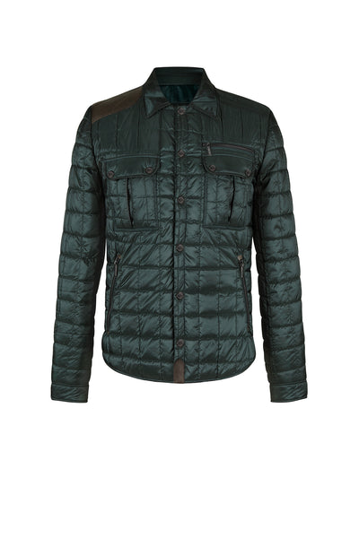 CHAQUETA BROOKLYN VERDE BOSQUE OUTLET - Andre Badi - Venta por catalogo - 1