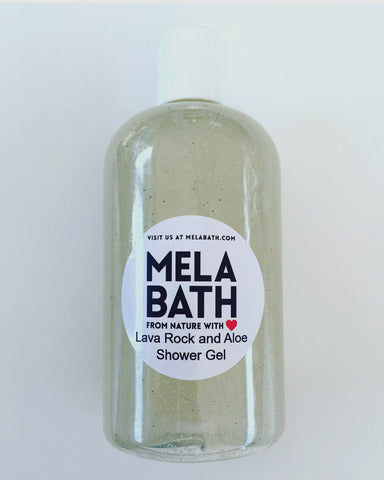 Lava Rock And Aloe Shower Gel