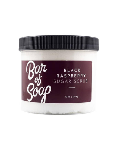 Black Raspberry Sugar Scrub by Bar Of Soap