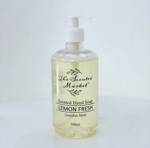 The Scented Market Lemon Fresh Hand Soap