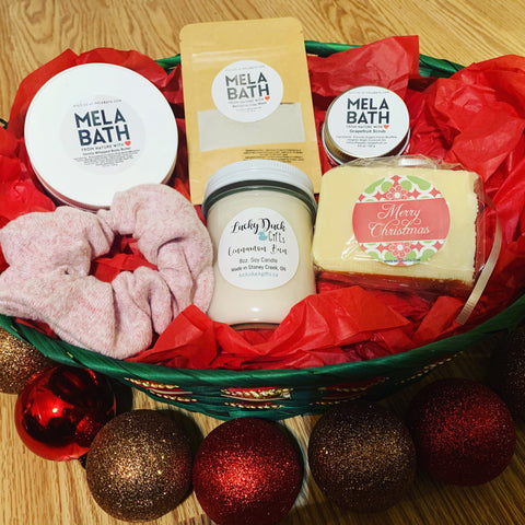 Skin & Shower Gift Basket