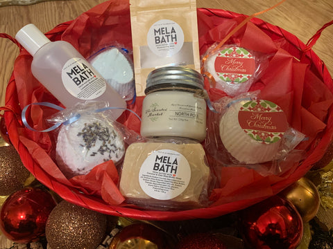Ultimate Bath Experience Gift Basket