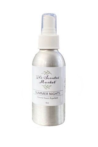 The Scented Market SUMMER NIGHTS Natural Insect Repellent Spray 4 oz