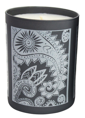 Paisley 14oz. Mandarin Oak Candle Glass