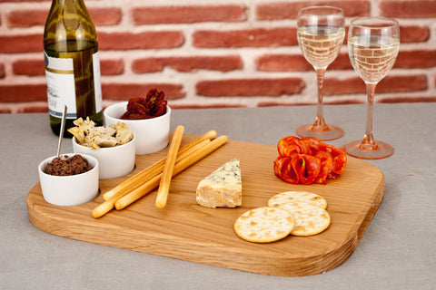 Harch Reversible Antipasti Board with Pots
