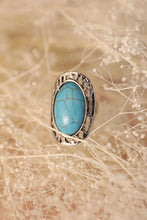 Load image into Gallery viewer, Oblong Turquoise Ring