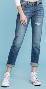 Michelle Distressed Boyfriend Fit Jean