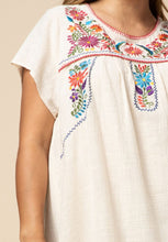 Load image into Gallery viewer, Shea Embroidered Smock Dress