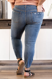Hazel Slim Fit Ankle Jeans