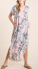 Load image into Gallery viewer, Celia Tie Dye Maxi Dress
